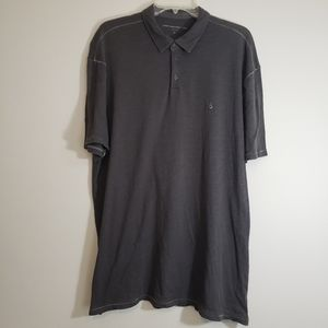 John Varvatos, Grey Polo Shirt, Size XL